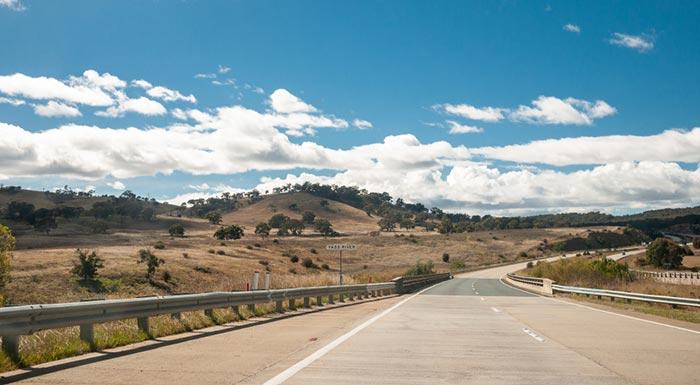 Vos options de voyage de Albury à Canberra