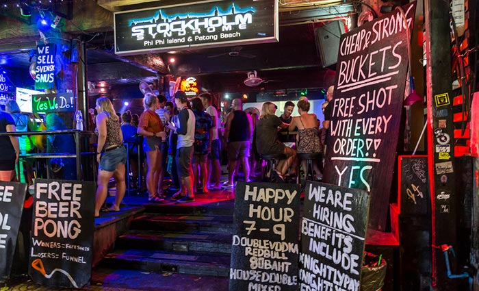 Les meilleurs bars de Koh Phi Phi