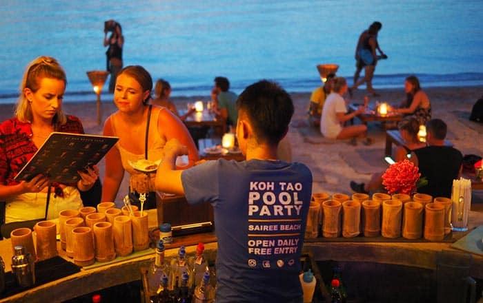 Les meilleurs endroits où boire et manger à Koh Tao