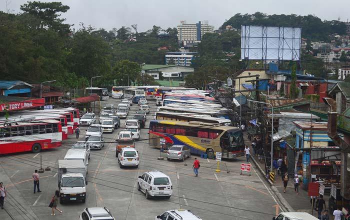 En bus de Manille à Baguio