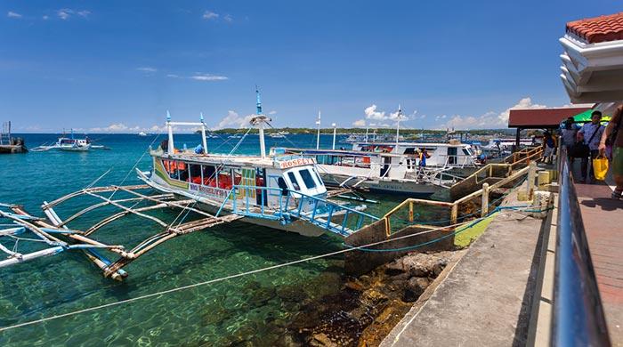 De Kalibo à Boracay en forfait van, ferry et taxi