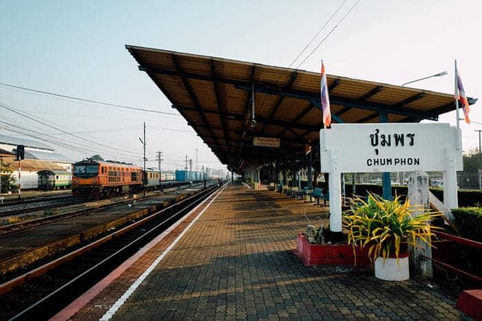 De Koh Tao à Bangkok en train