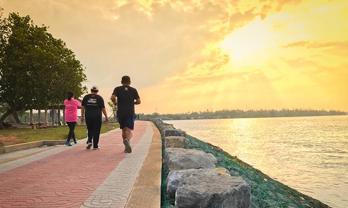 Les parcs de Surat Thani