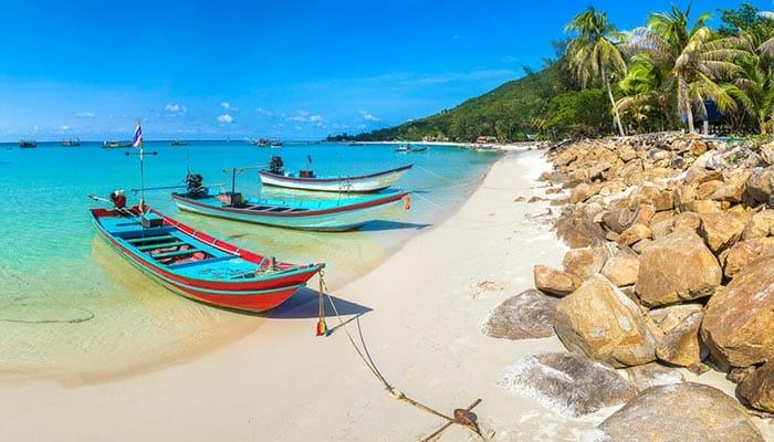 Les plages de Koh Phangan