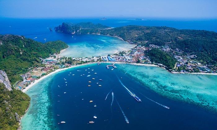 Baie et plage de Ton Sai