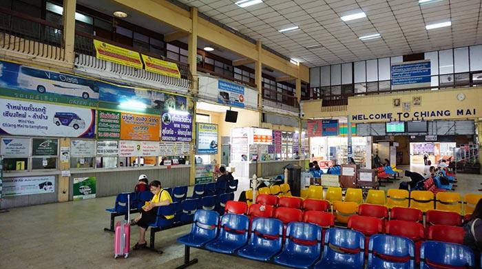 De Chiang Mai à Sukhothai en bus