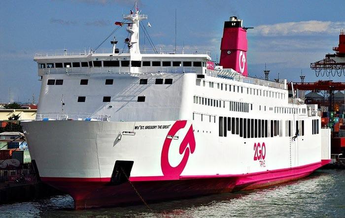 De Manille à Dumaguete en ferry