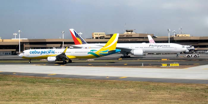 Vols de Manille à Dumaguete