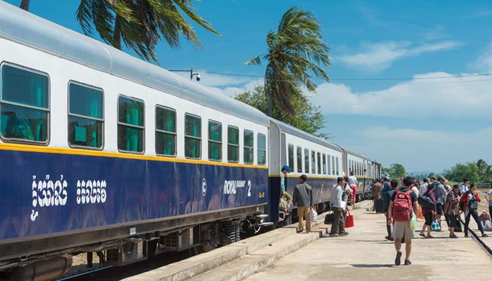 De Phnom Penh à Kampot en train
