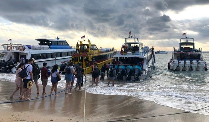 De Sanur à Nusa Penida en bateau