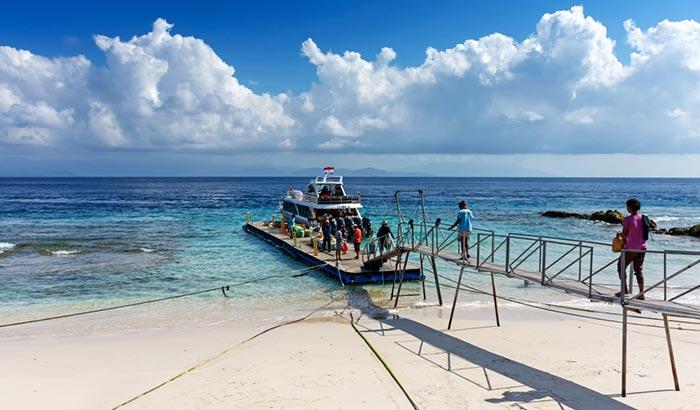 Vos options de voyage de Sanur à Nusa Penida